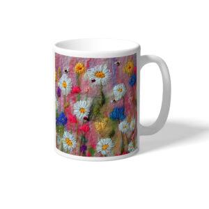 Delightful Daisies mug