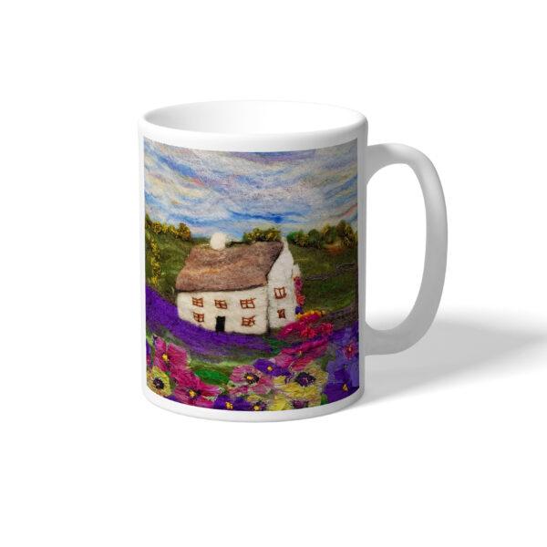 Lavender Cottage mug