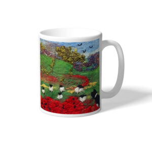 Minding the Flock mug