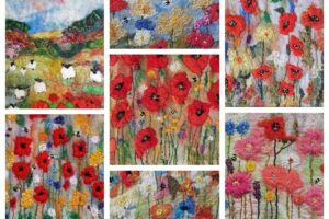 Poppy collage