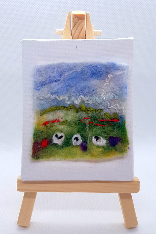 Northumberland Pastures Mini Miniature Easel